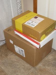 THREE boxes!