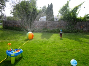 New sprinkler!