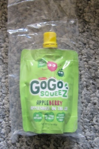 GoGo Squeeze Appleberry pouch