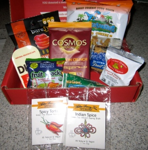 September 2013 Love with Food box