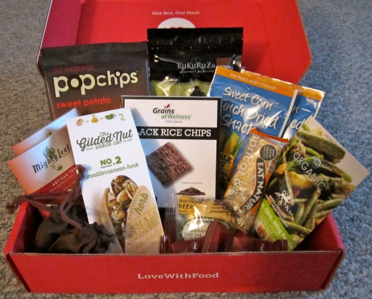 November 2013 Love with Food Deluxe Box