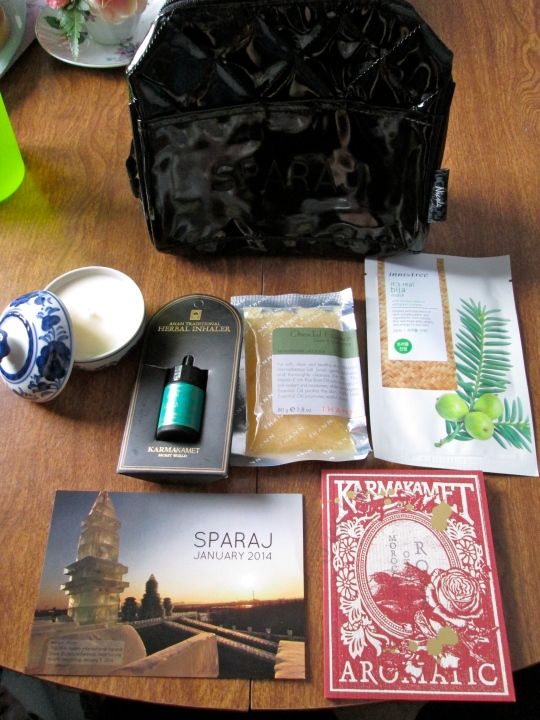 January 2014 Sparaj Box